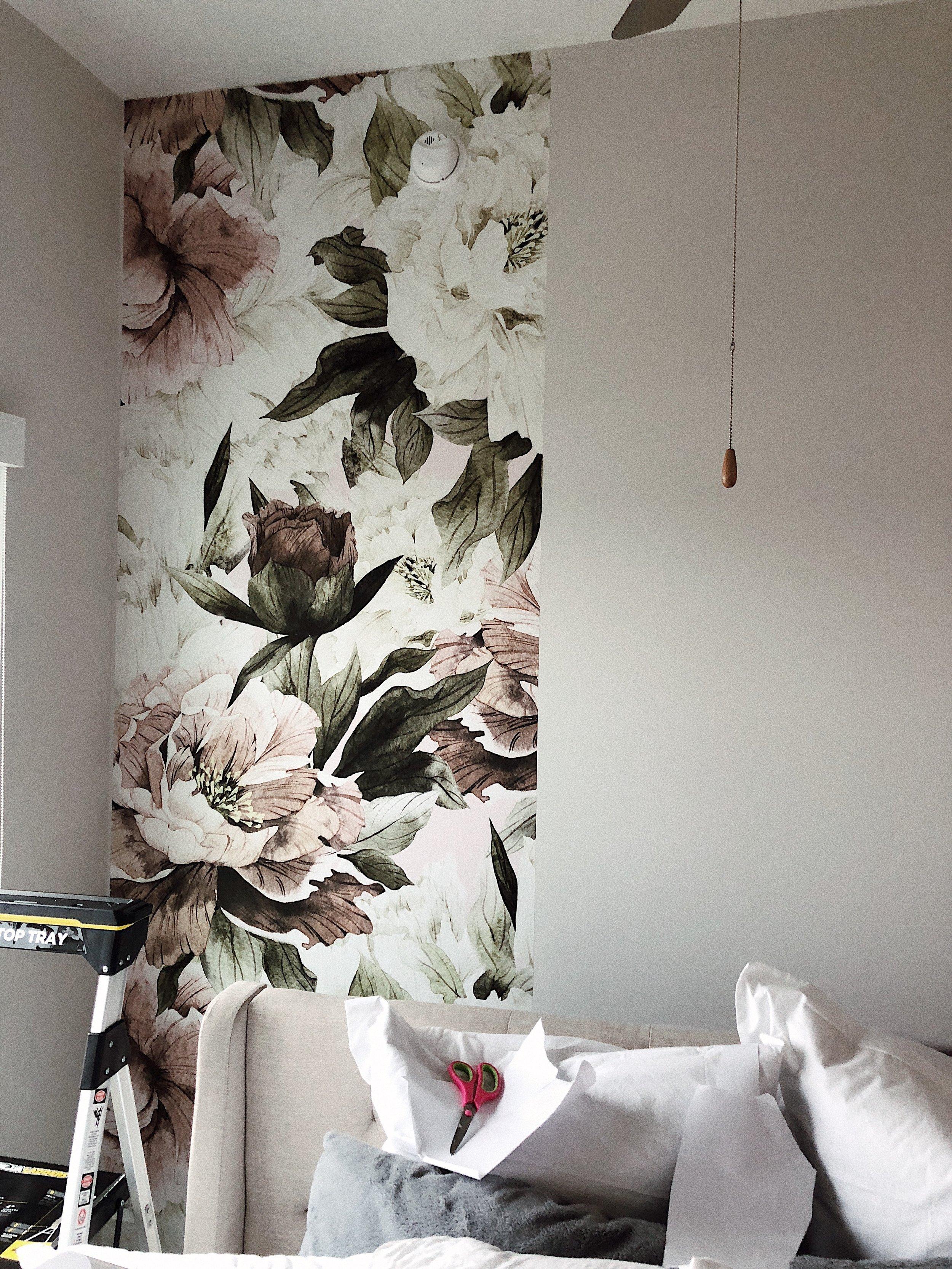 wallpaper installation miss lifestyler.JPG