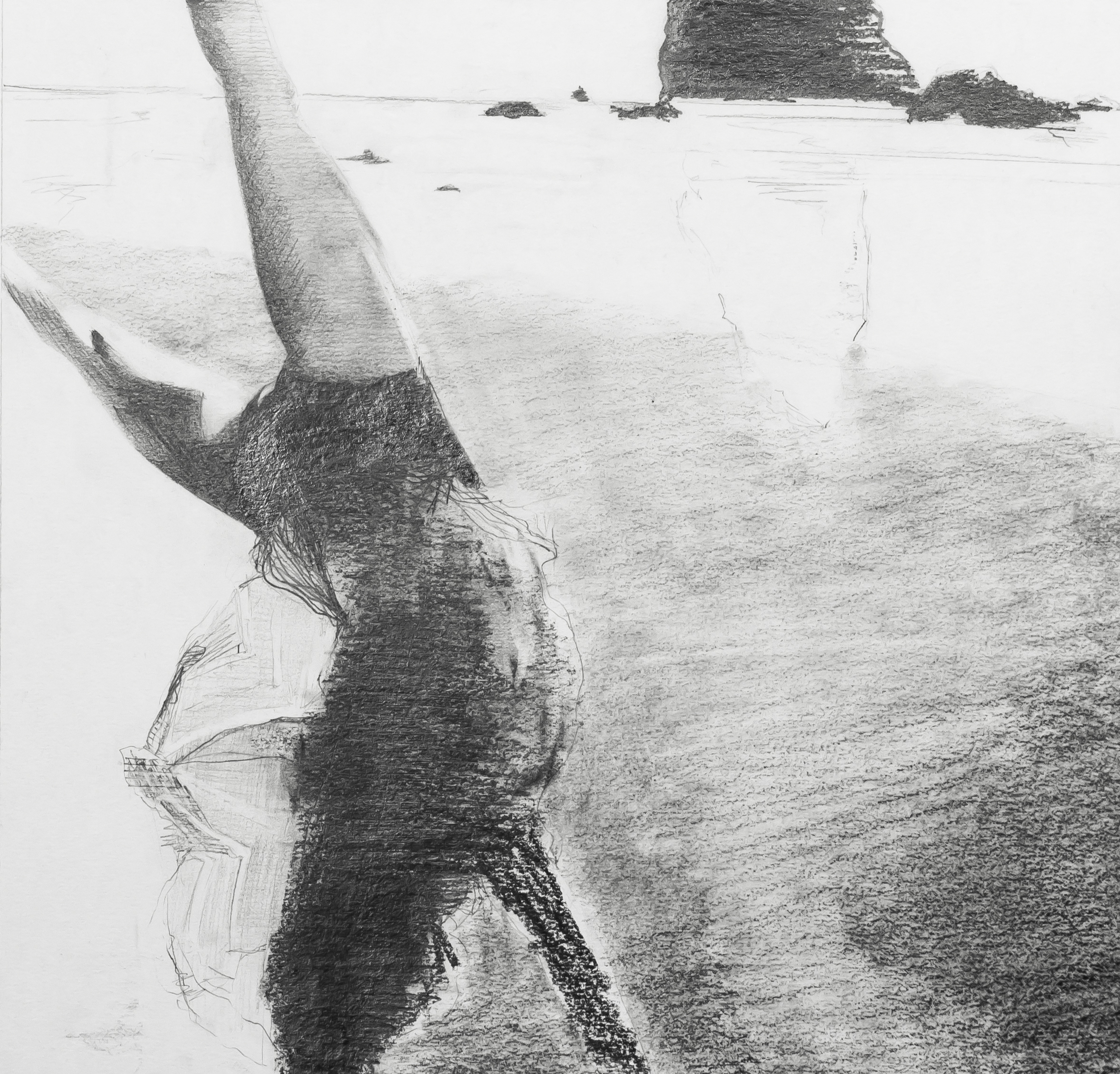 Untitled (Playing At The Beach)