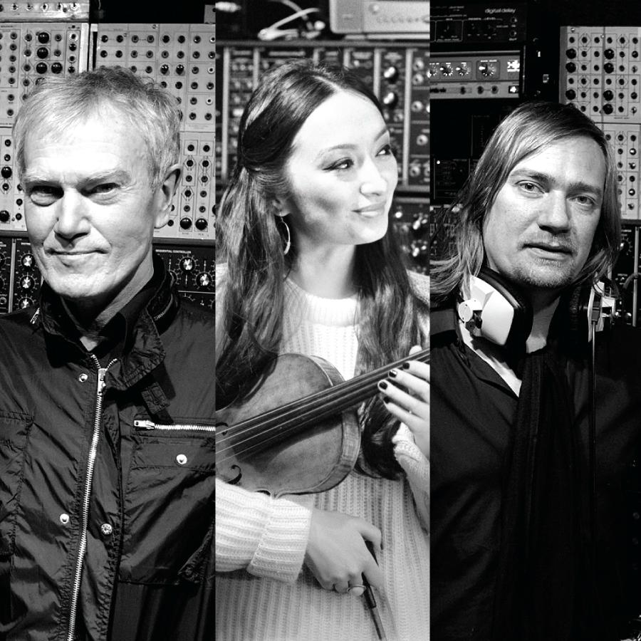 Ghost Harmonic:  John Foxx, Diana Yukawa and Benge