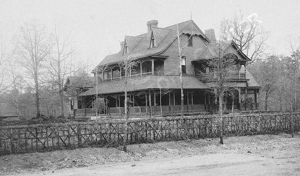 Thompson Residence - photo courtesy of the Atlanta History Center