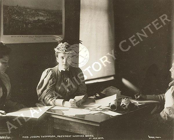 Mrs. Thompson - photo courtesy of the Atlanta History Center
