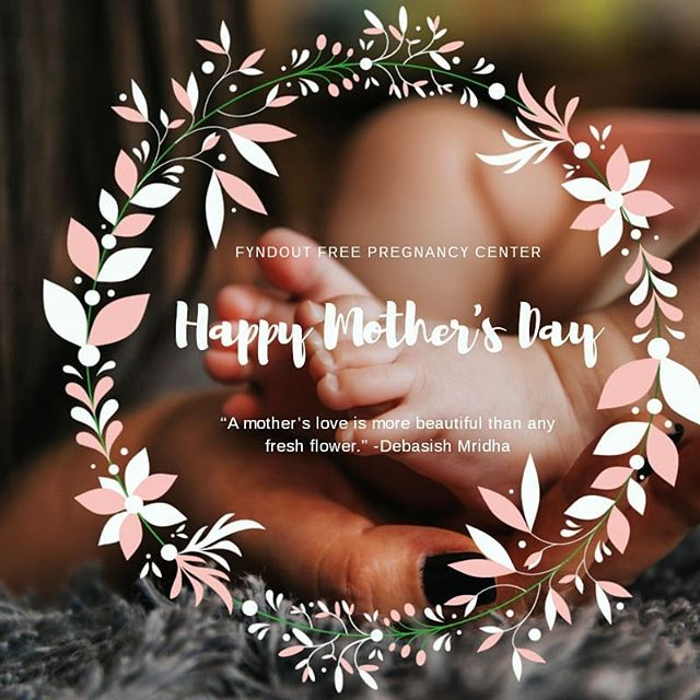 """A mother's love is more beautiful than any fresh flower."" -Debasish Mridha . .  #fyndoutfreepregnancy #fairbanksalaska #fairbanks #alaska #pregnancy #ultrasound #freeultrasounds #parentingclass #nonprofitorganization #ministry  #newbornbaby #newbornbuy #newborngirl #newbornphoto #chooselife #fyndoutpath #mariascloset"