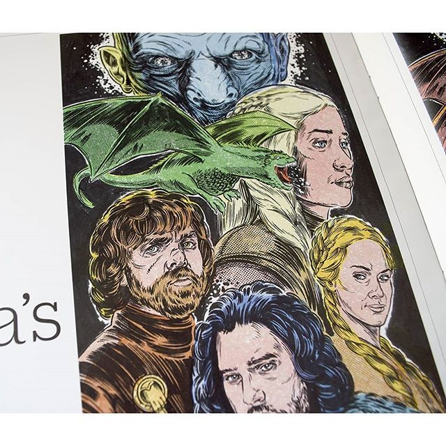 In case you didn't know, Game of Thrones final season opened last night. Calm down, you can breathe easy because this is a SPOILER-FREE post. We made this for @variety when the blonde with dragons still had three. And about the rest... Well, we've forgotten most of it.