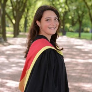 Emilie Belage received her MSc in Epidemiology for her work on the National Dairy Study