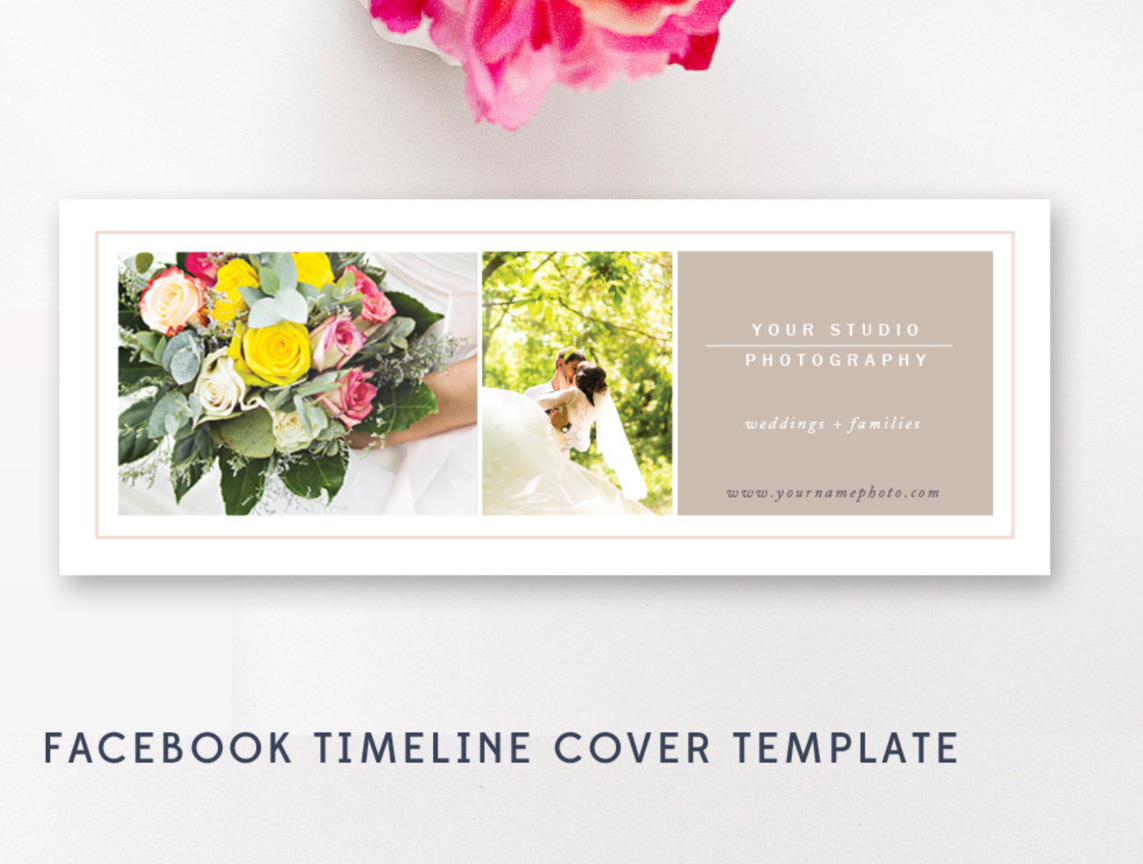 Facebook Cover Template For Photographers By Stephanie Design