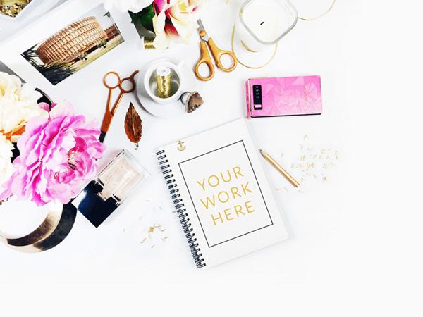 free feminine styled stock photography