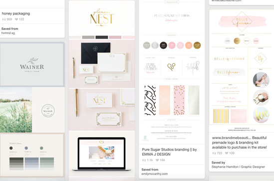 how to create your signature brand style - by stephanie design