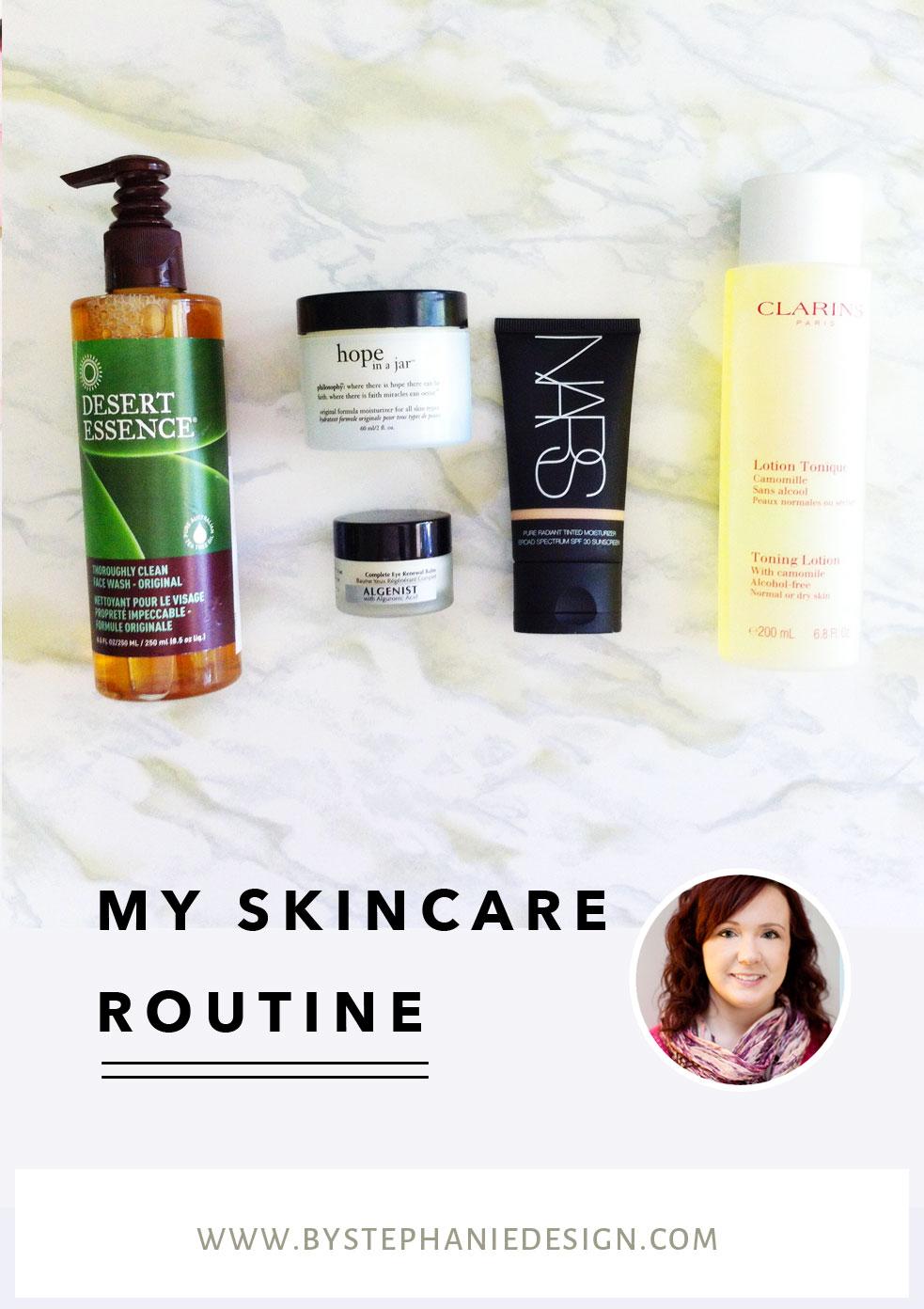 my nighttime skincare routine - by stephanie design