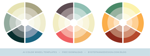how to create the perfect color palette for your small business - by stephanie design