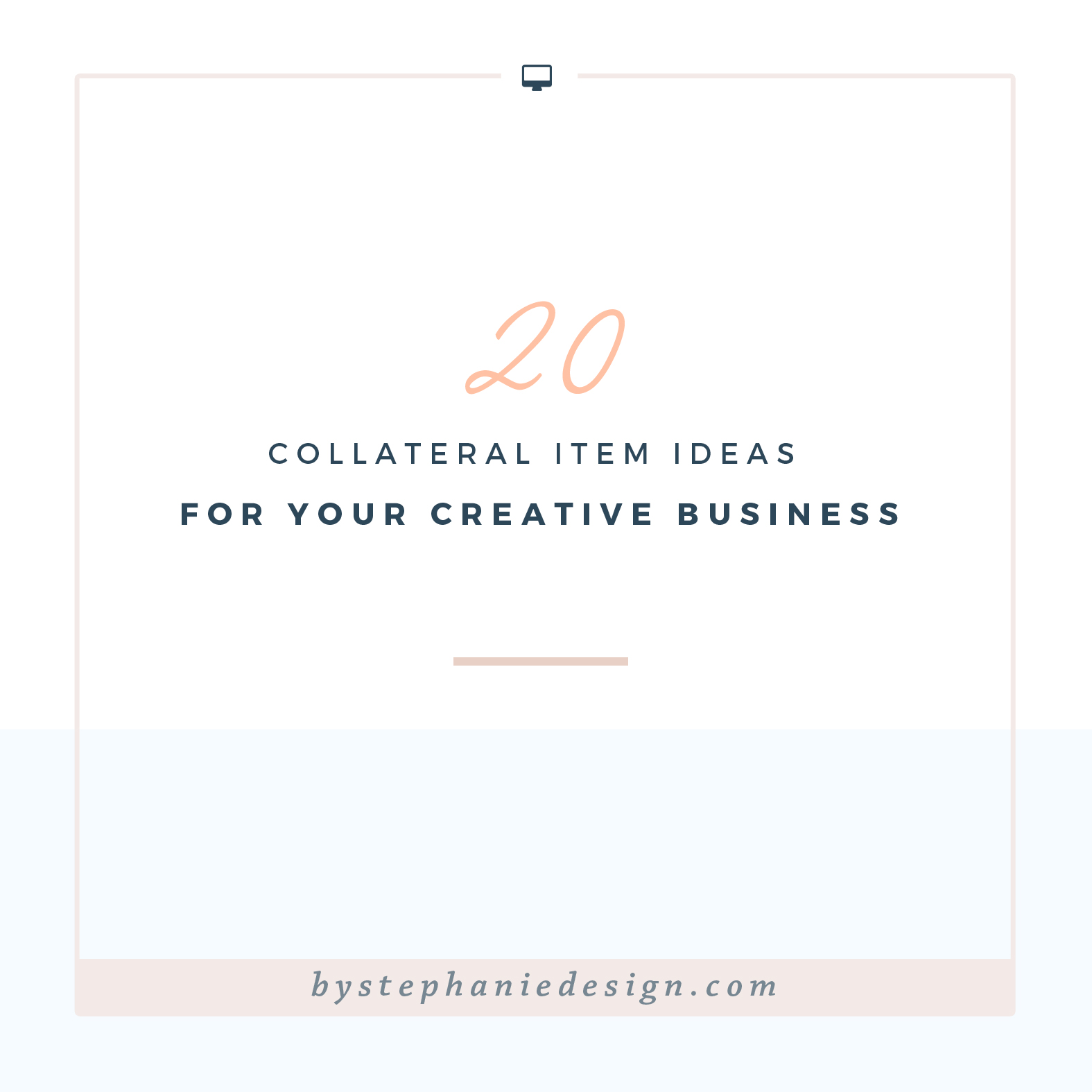 20 collateral item ideas for your creative business