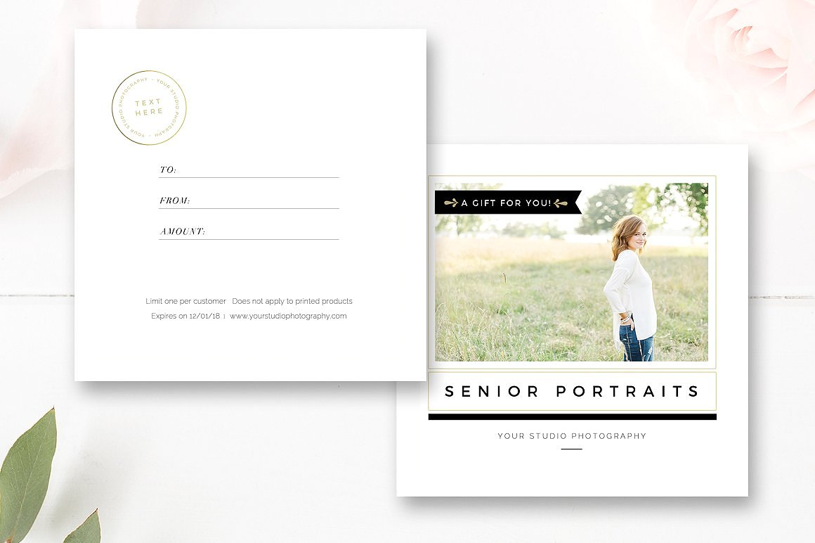 photographer marketing set - branding kit - by stephanie design