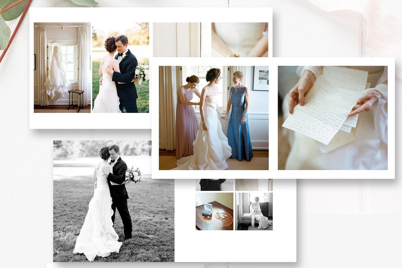 10x10 And 12x12 Wedding Photobook Template By Stephanie Design