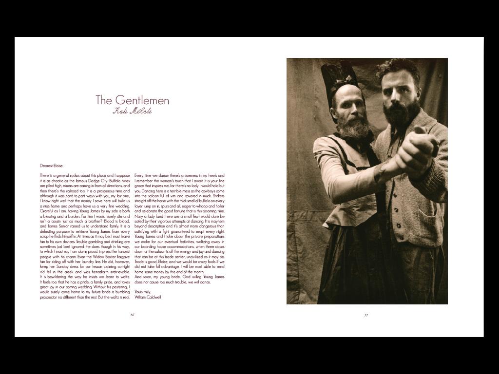 The Gentlemen story & photo