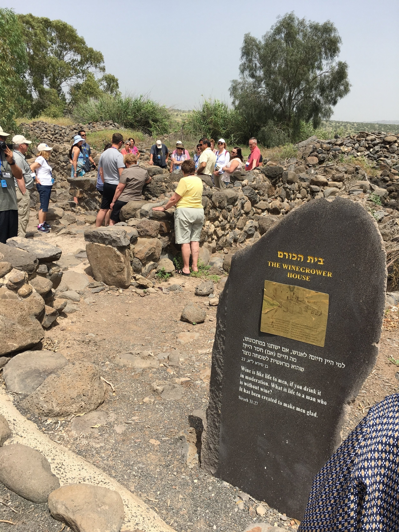 (excavation of) Bethsaida
