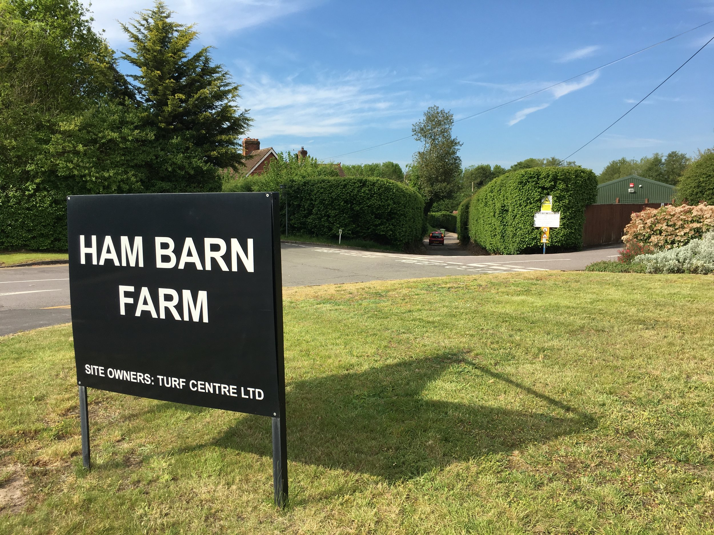 My very own Ham Barn?! That's what I'm talking about.