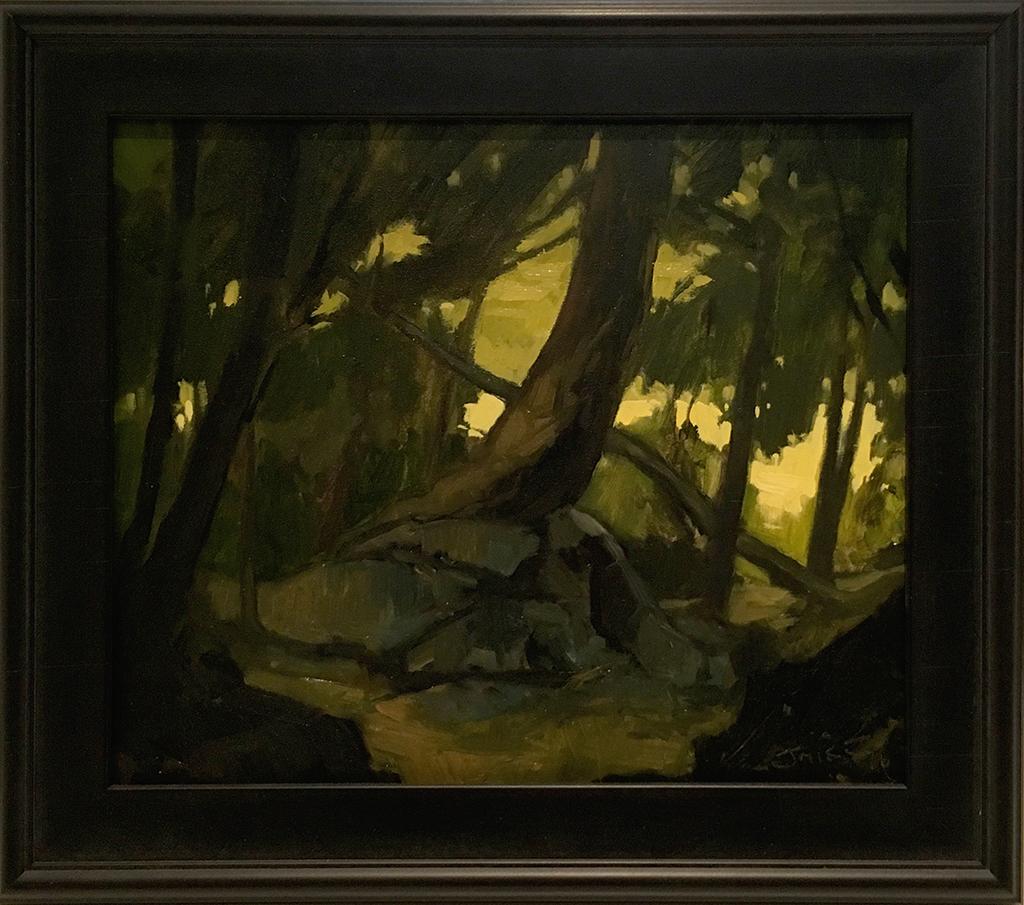 SOLD II Forest Interior #1 by Jamie Jardine