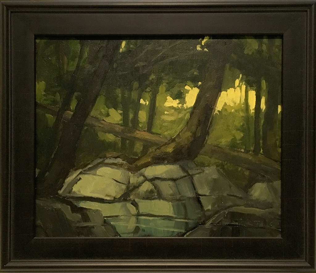 SOLD || Forest Interior #2 by Jamie Jardine