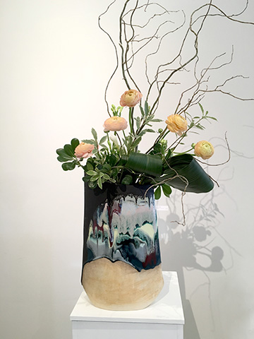 Envelope Vase by Michelle Mendlowitz