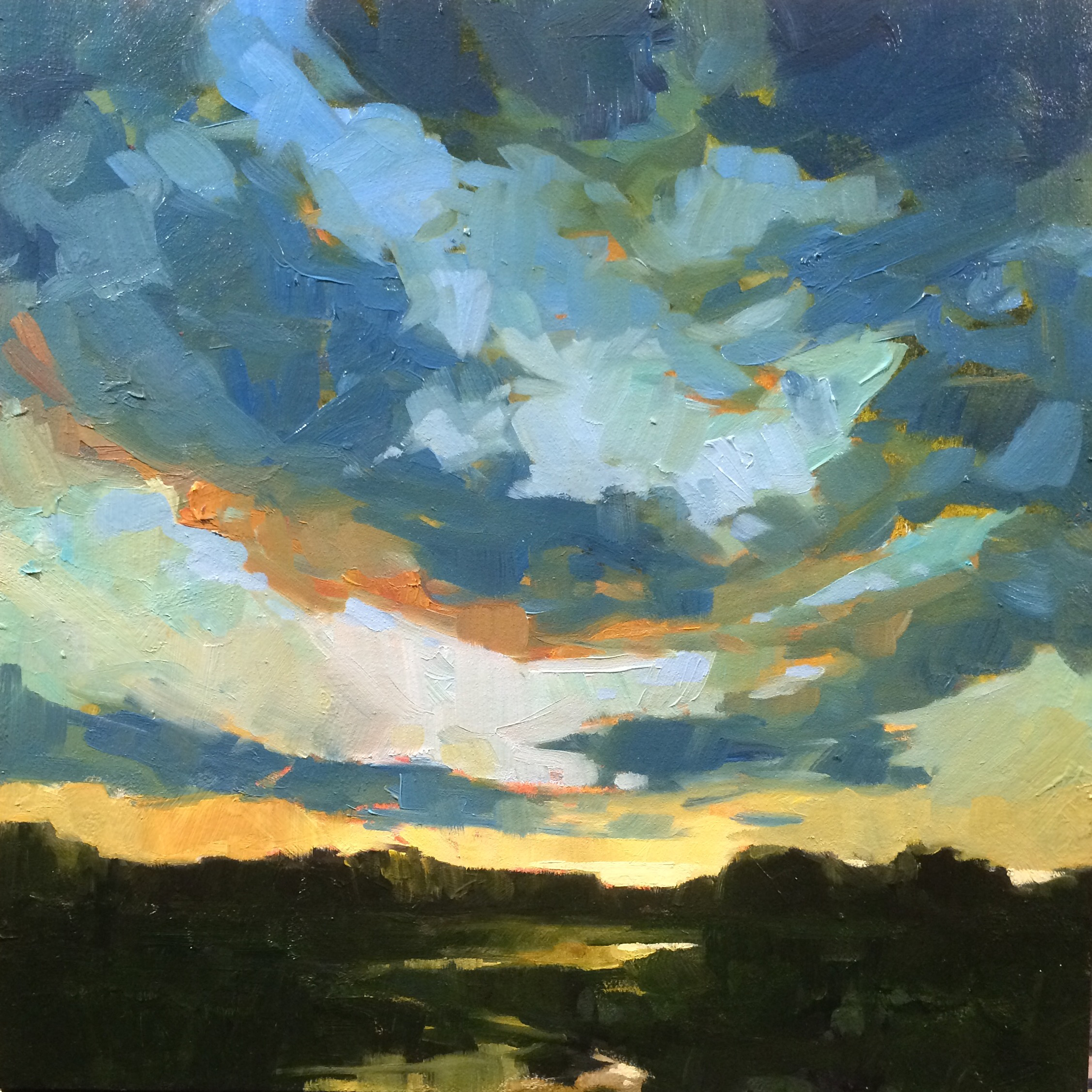 SOLD ||  Sky #3 by Jamie Jardine