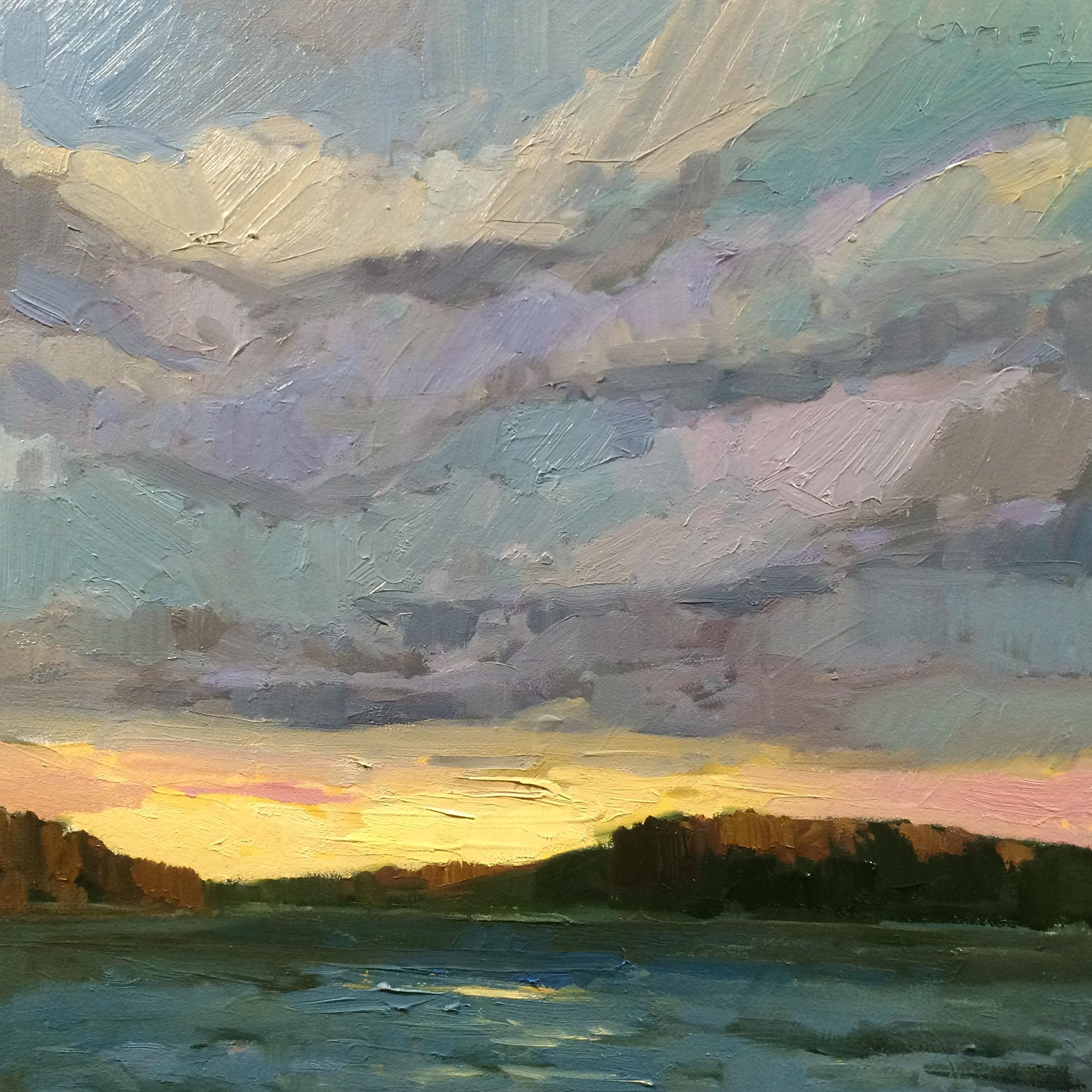 SOLD ||  Sky #4 by Jamie Jardine