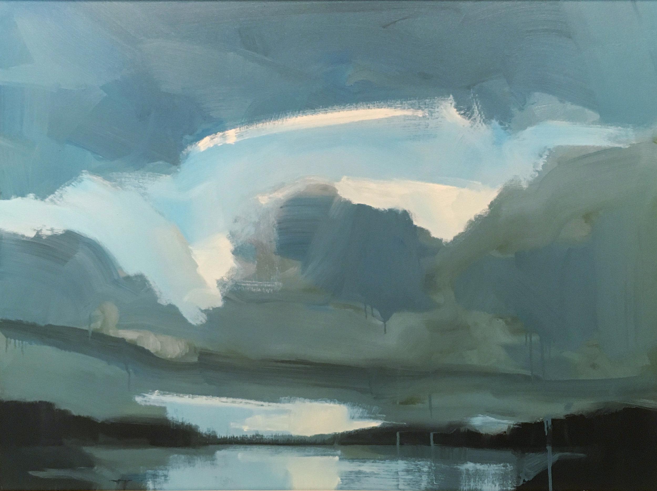 SOLD II Clouds in Blue by Jamie Jardine