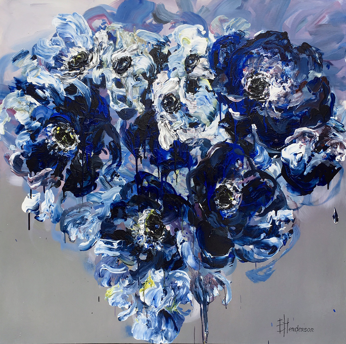 Colour Me Blue #1 by Elena Henderson