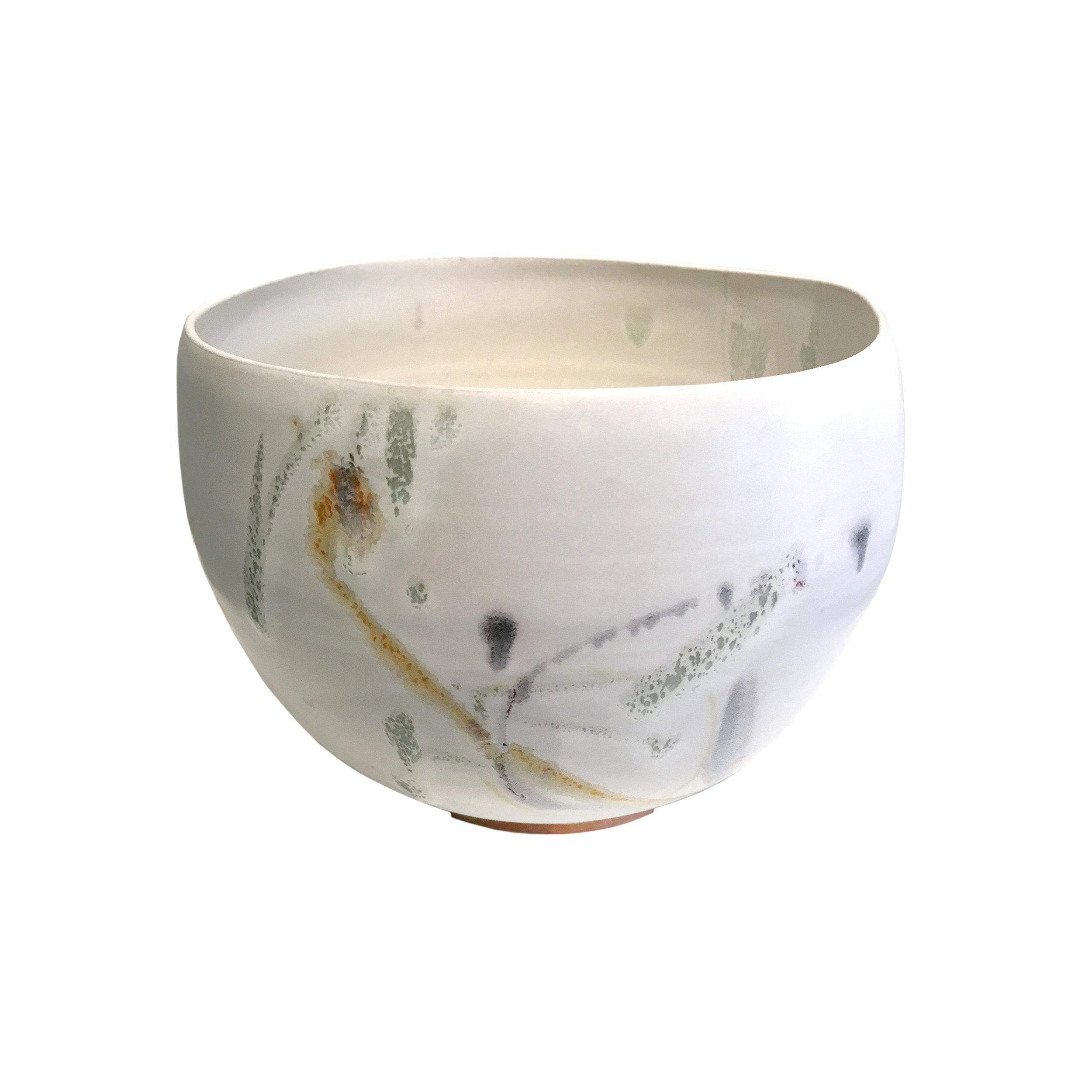 SOLD II White matte bowl