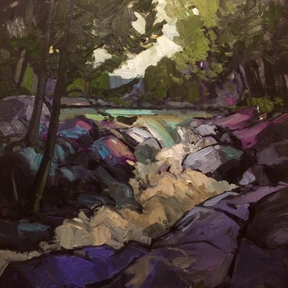 SOLD II Waterfall in Armour, Ontario by Jamie Jardine
