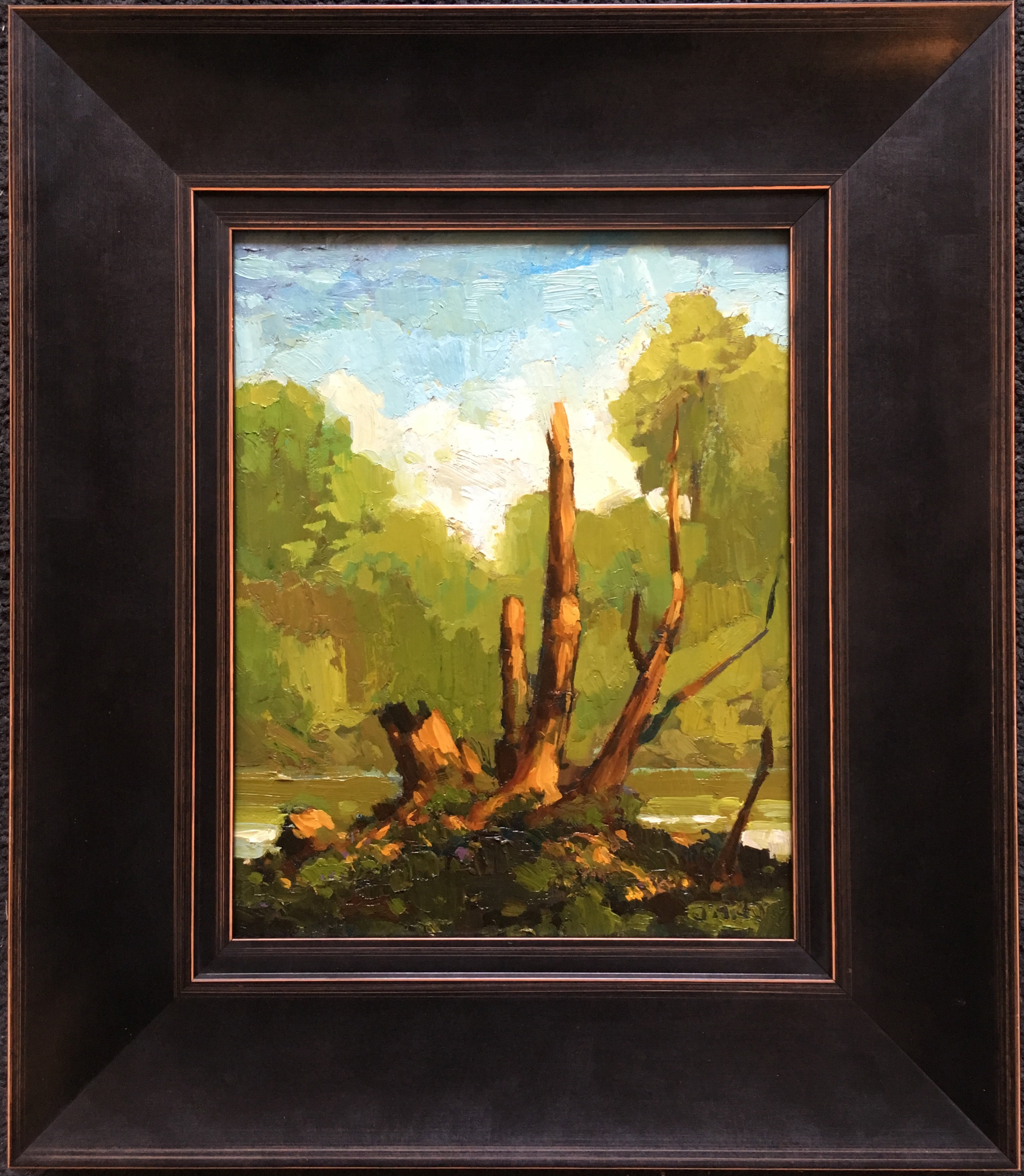 SOLD || SOLD II  Tree Along The Avon by Jamie Jardine