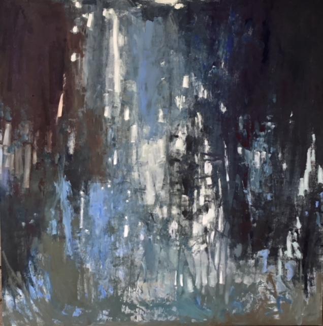 Forest Walk by Carol Finkbeiner Thomas