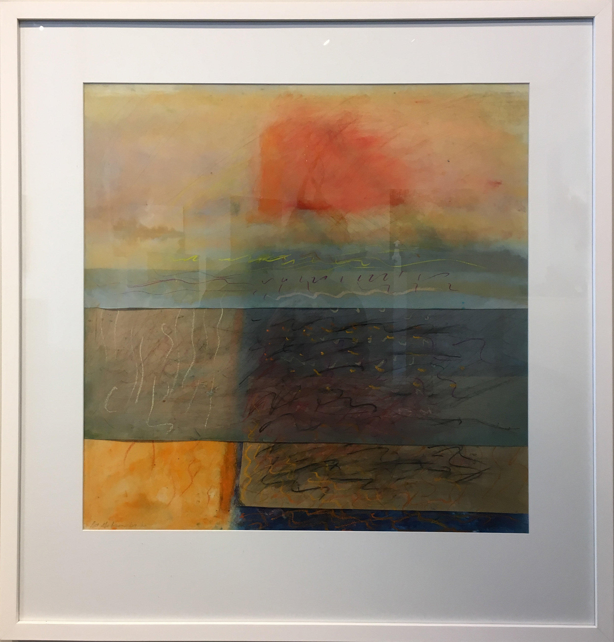 SOLD || Seascape #1 by Pat Gibson