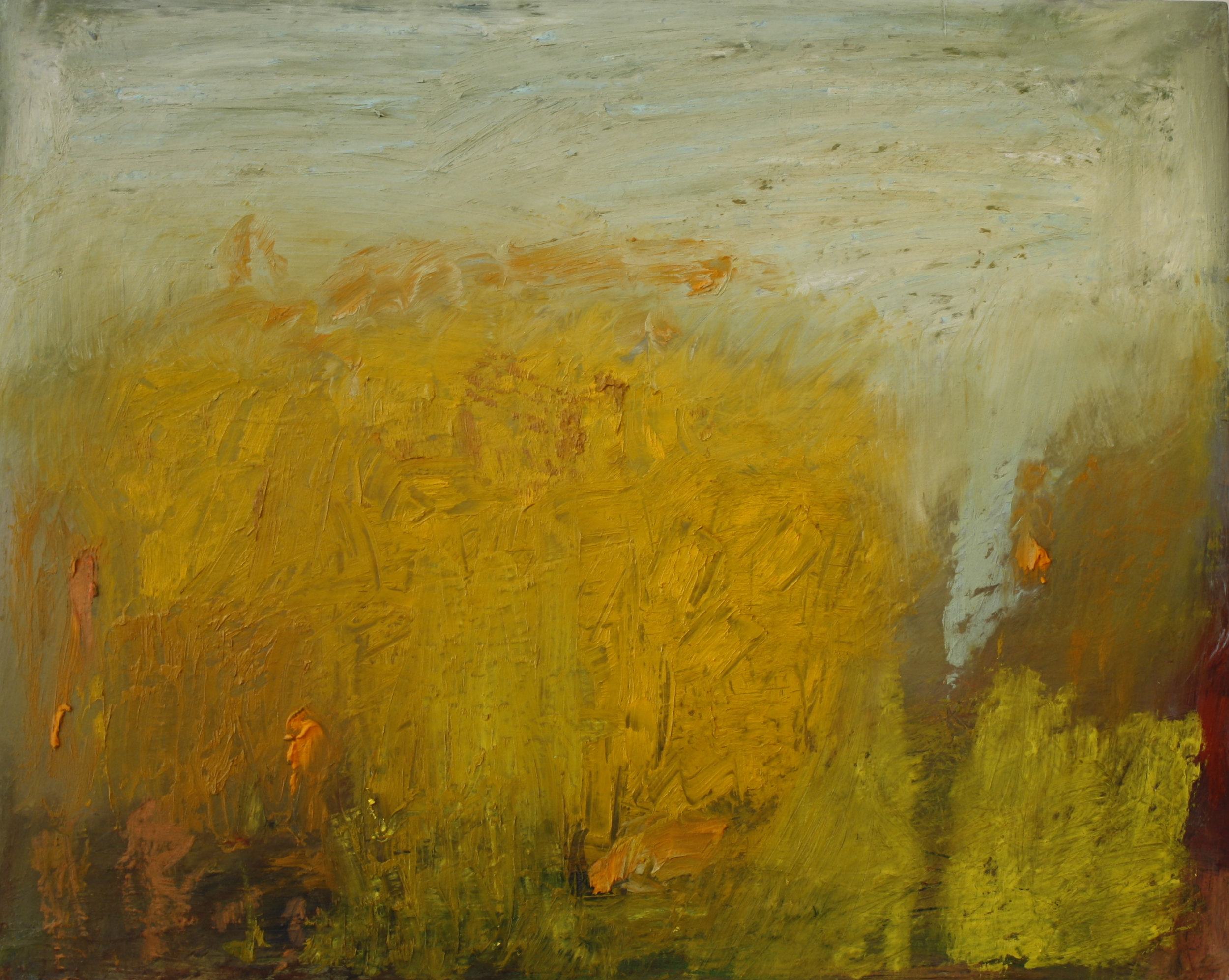 SOLD II Autumn Trees by Pat Gibson