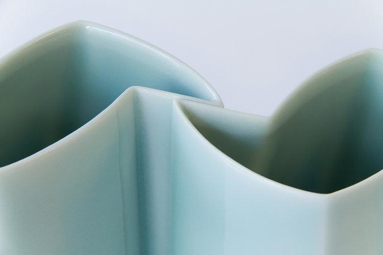 Celadon Vase by ChengOu Yu