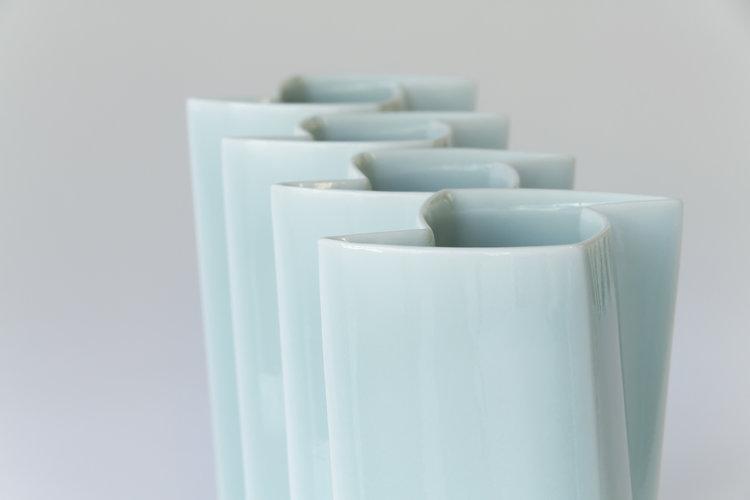 Celadon Vases by ChengOu Yu
