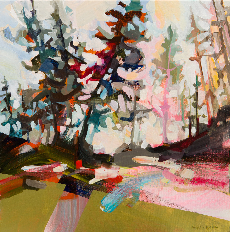 SOLD ||  Tree Line #1 by Amy Montgomery