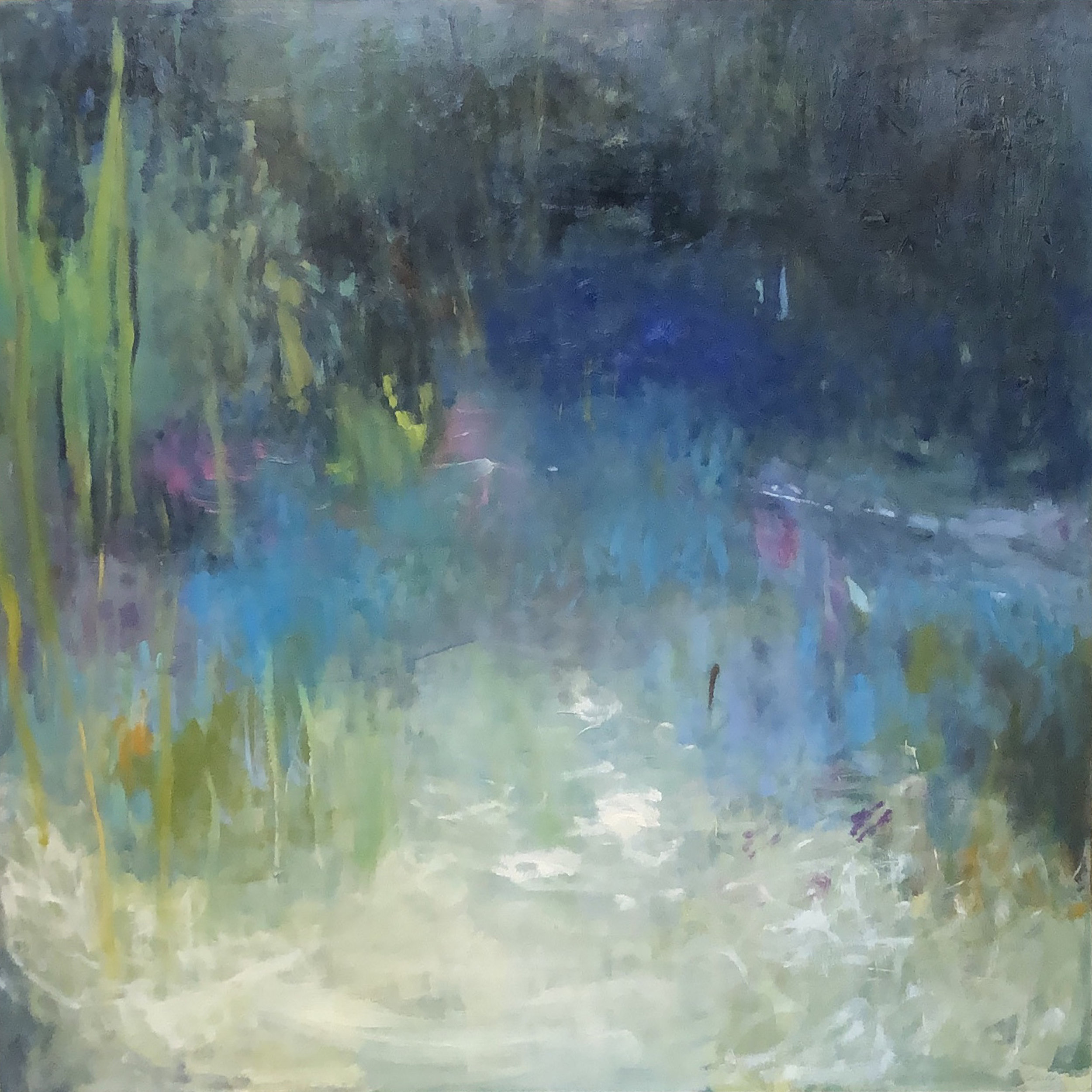 SOLD || Afternoon by the Creek by Carol Finkbeiner Thomas