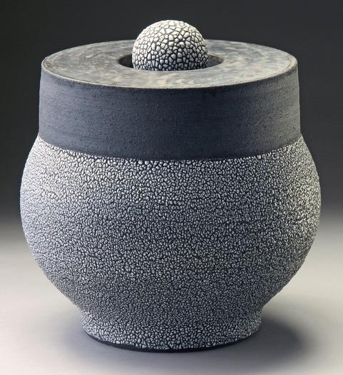 Covered Jar by Maja Padrov