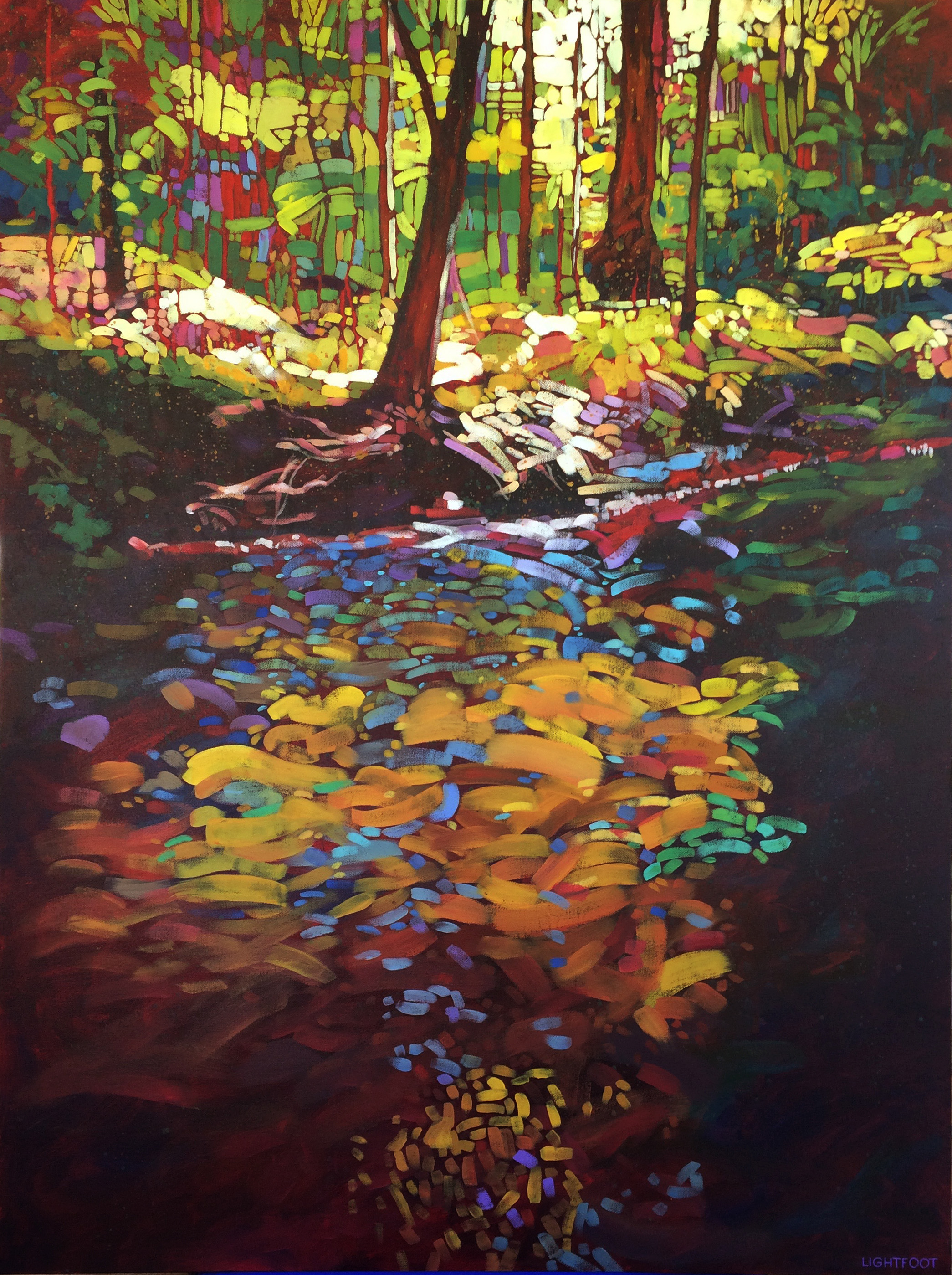 Forest Reflections by John Lightfoot