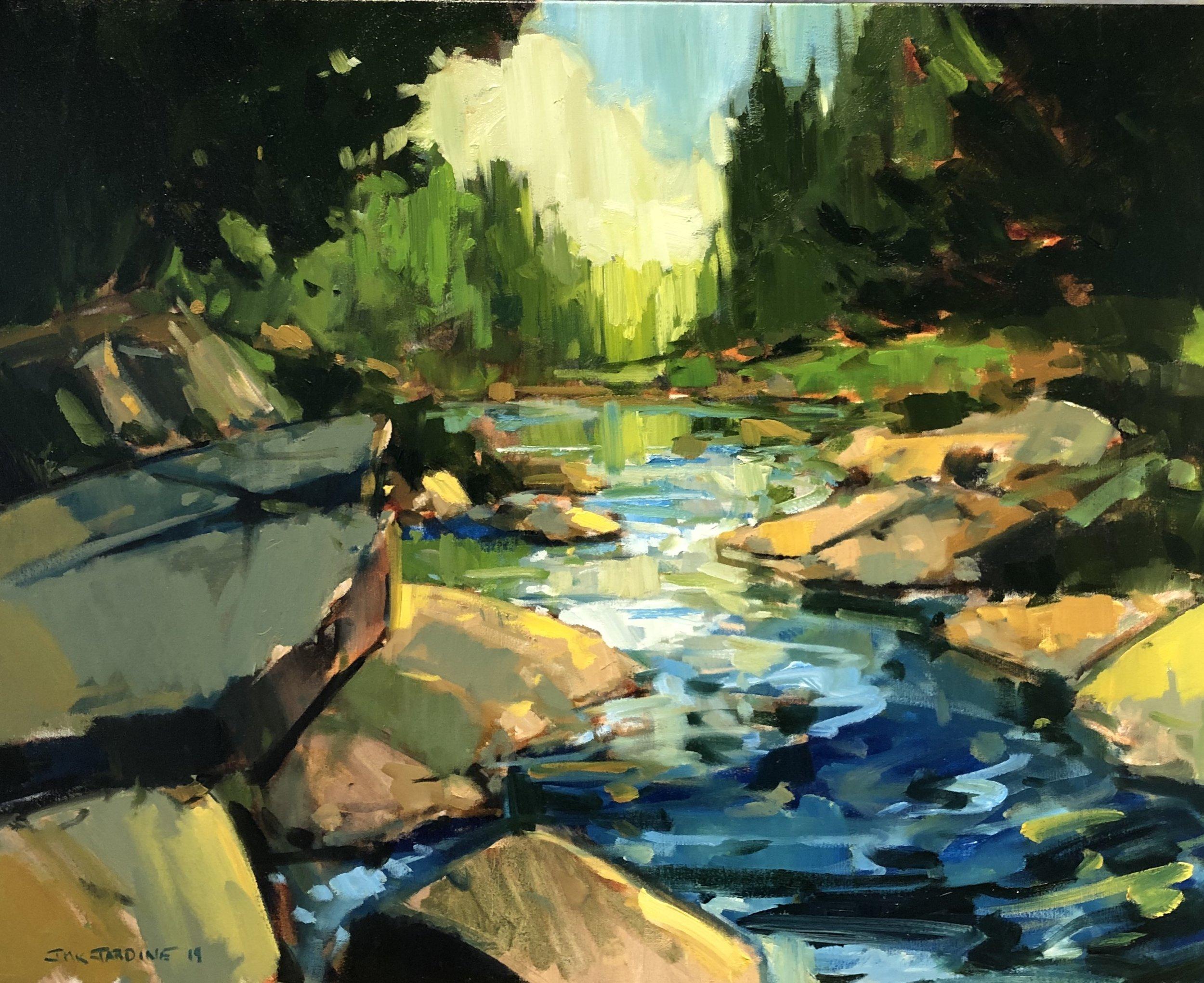 Alon g the Magnetawan River by Jamie Jardine