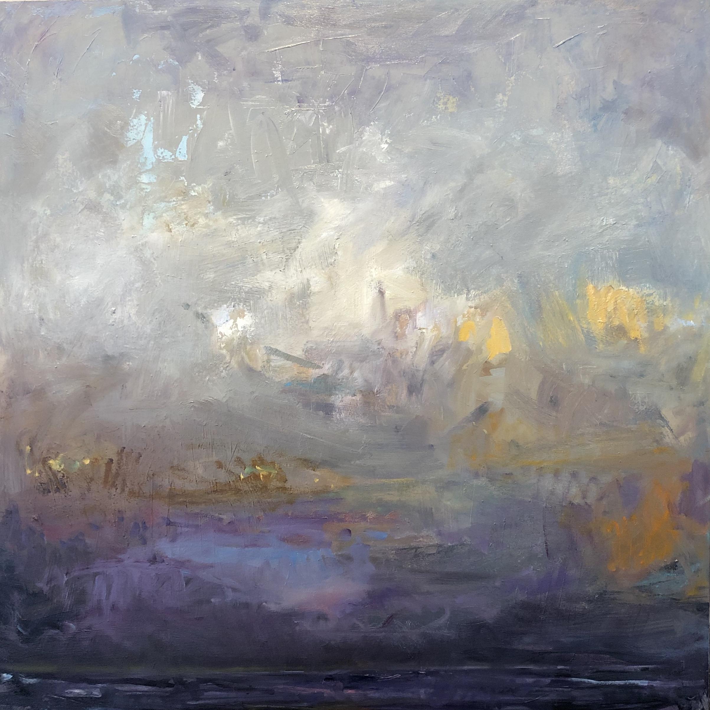 Purple Sky at Dusk by Carol Finkbeiner Thomas