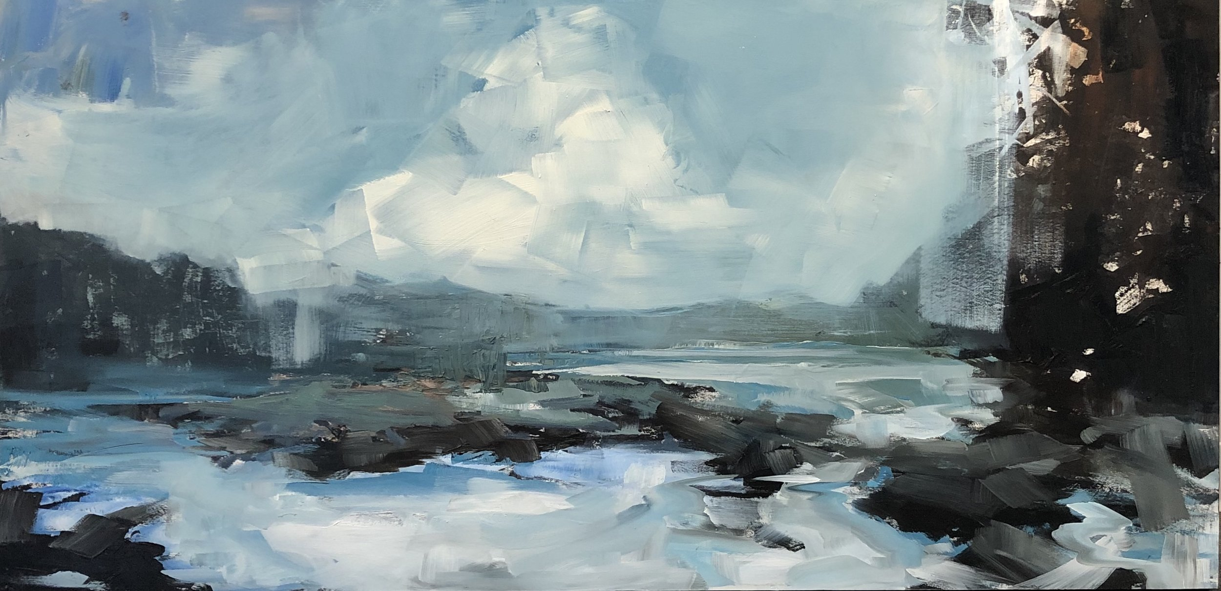 SOLD || Sheltered Cove by Carol Finkbeiner Thomas