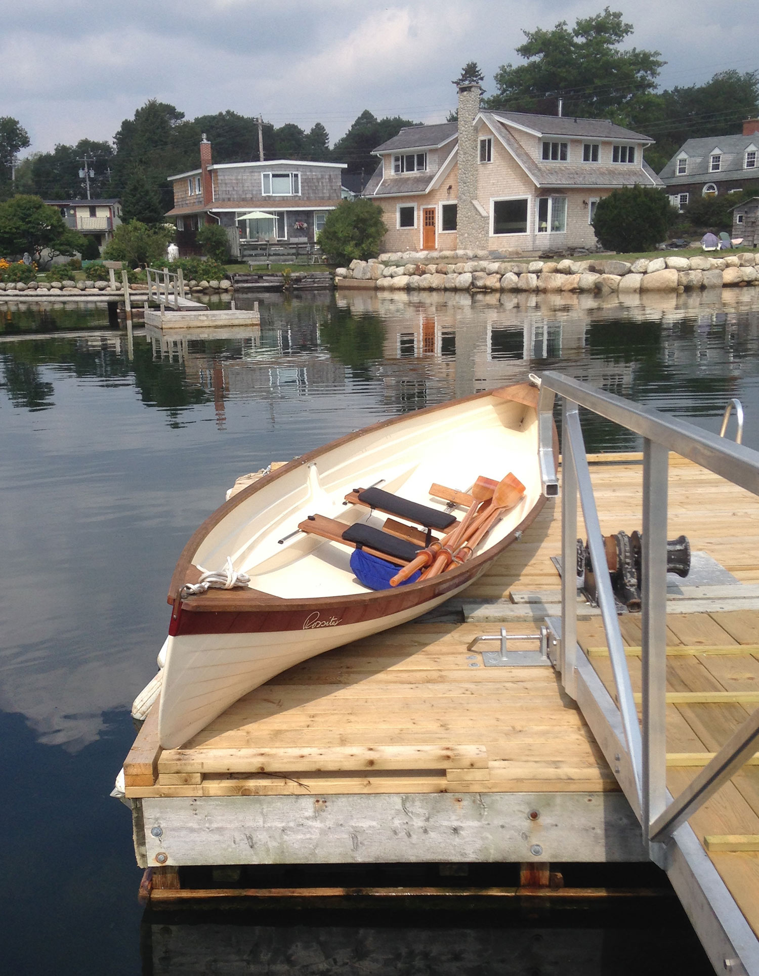 Rent our Rossiter Row Boat!