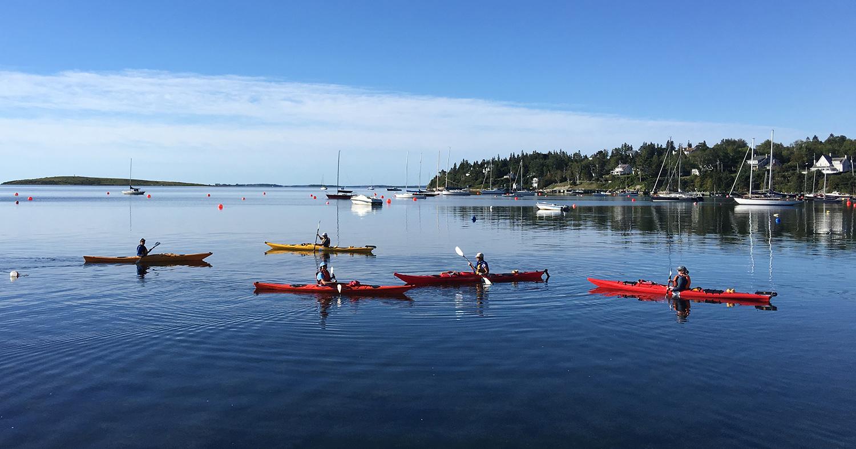 Calm morning paddle