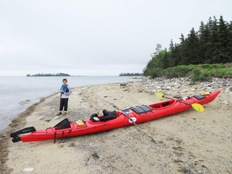 Kids love kayaking
