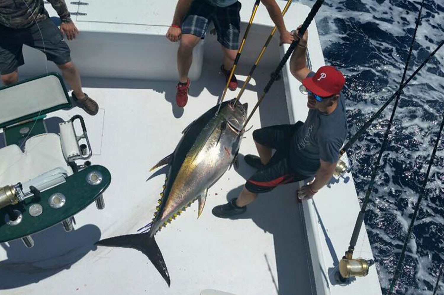 catch of the Day on the High Return Sportfishing Charter