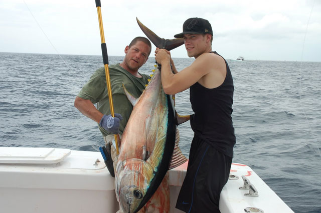 Big Eye Tuna -- High Return Sportfishing