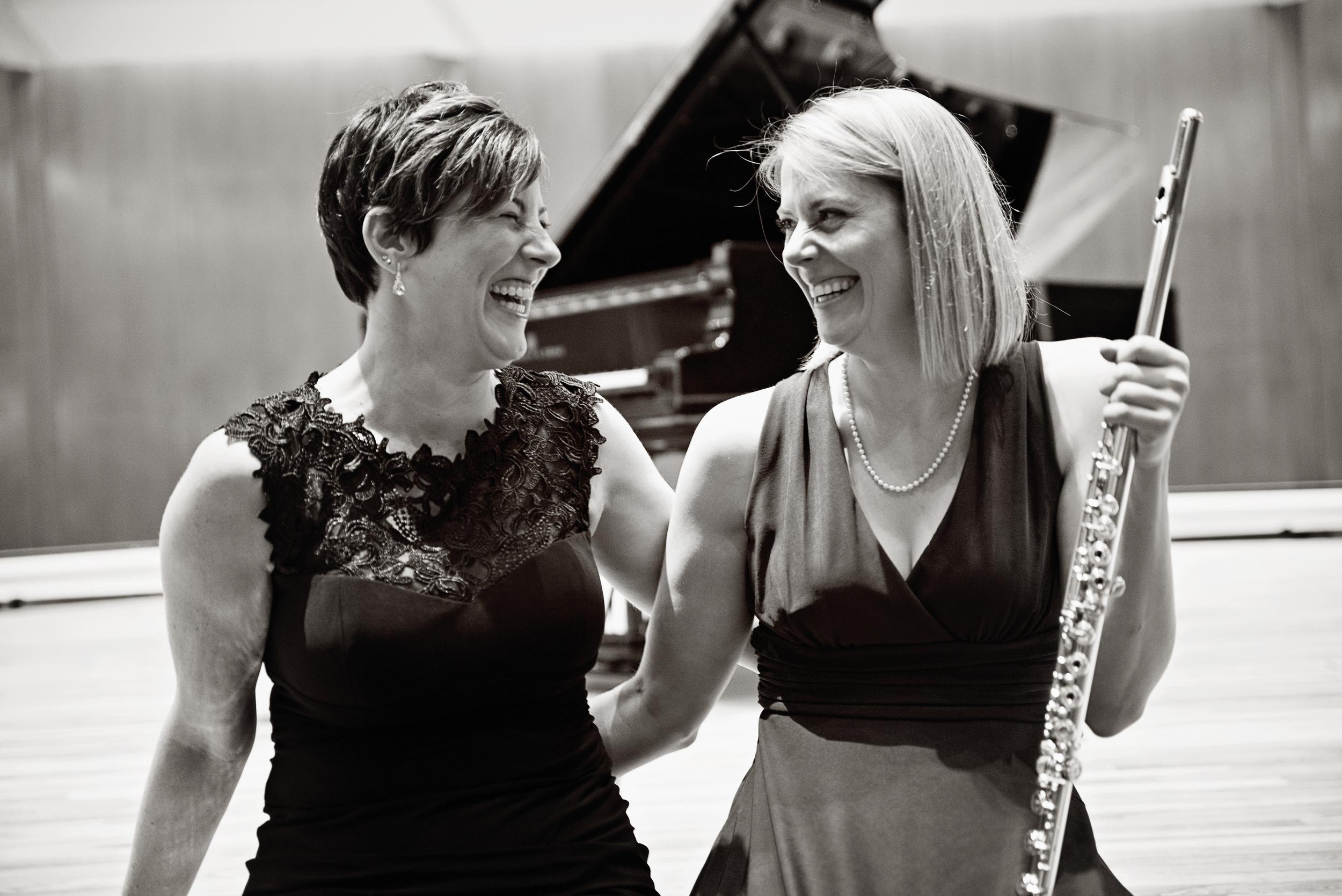 Cara Chowning and Rebecca Johnson, 2014