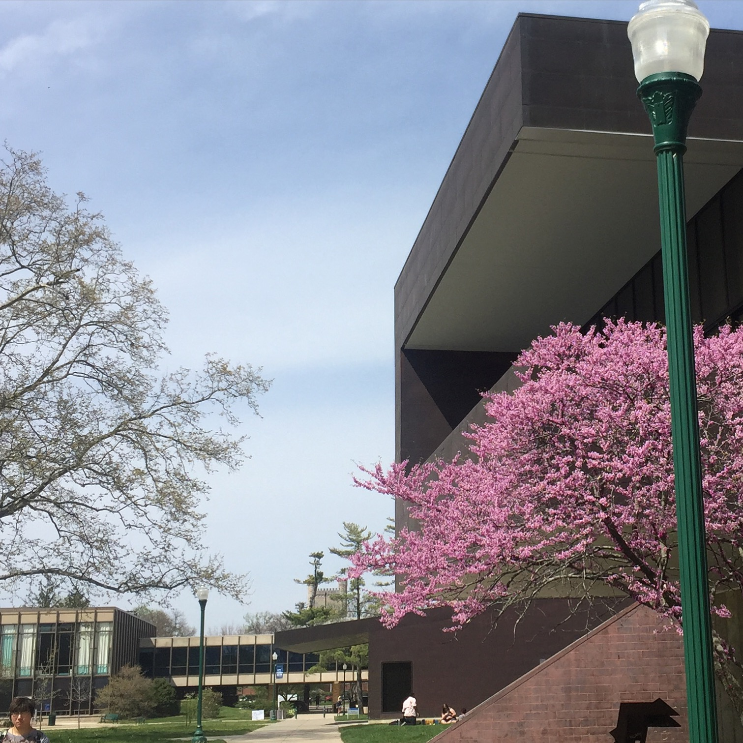 Eastern Illinois University's Doudna Fine Arts Center.