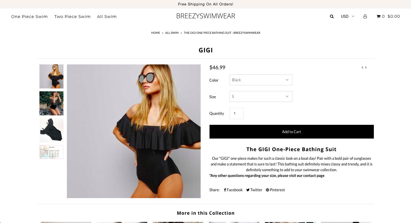 Breezy Swimwear