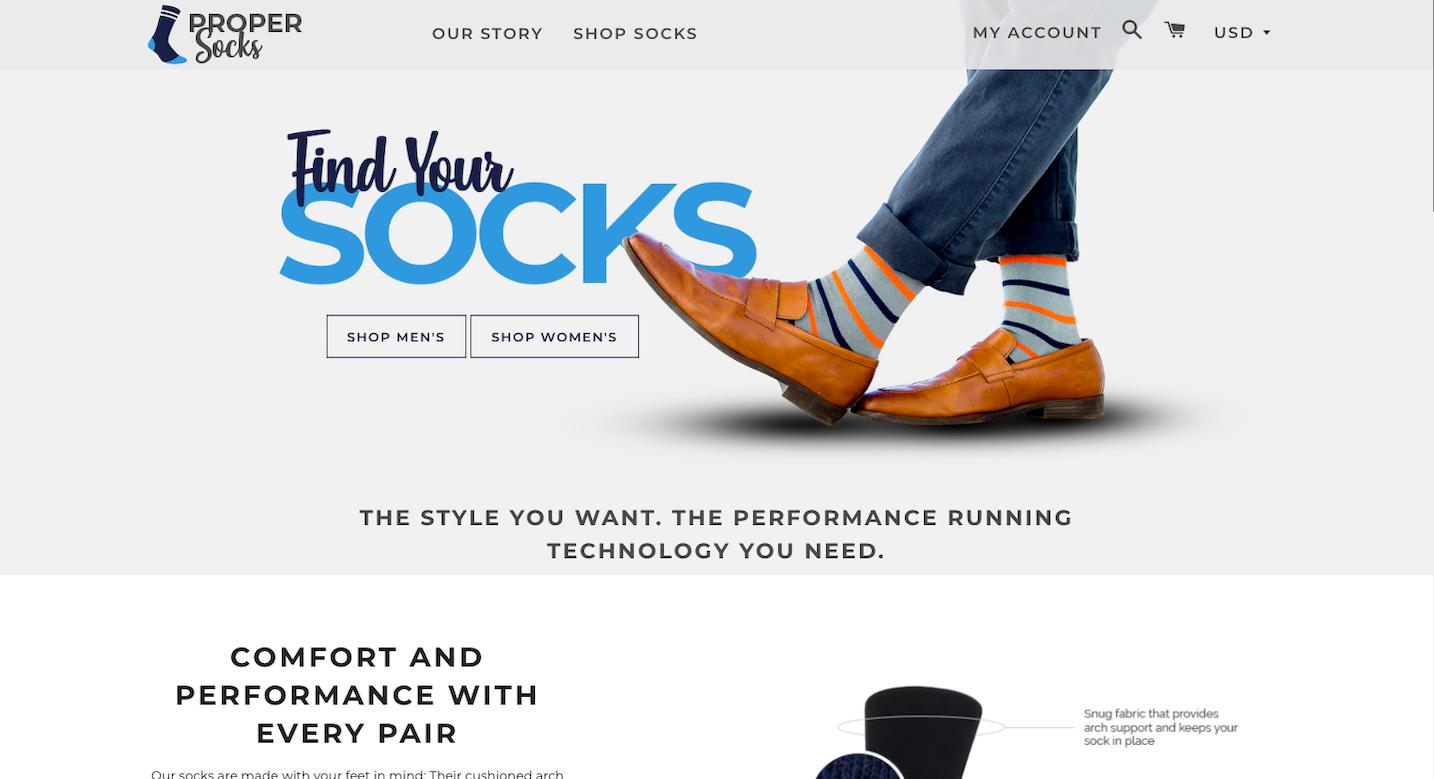 Propersocks.com